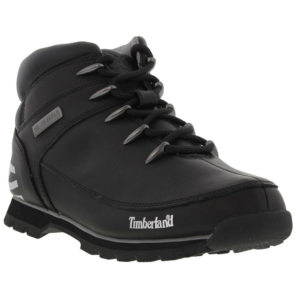 Timberland Men's Shoes Ankle Boots Euro Spring Hiker Black ...