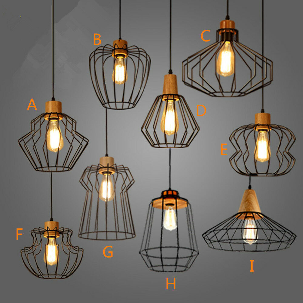 Black Chandelier Lighting Kitchen Vintage Pendant Light: Vintage Chandelier Lighting Kitchen LED Pendant Light