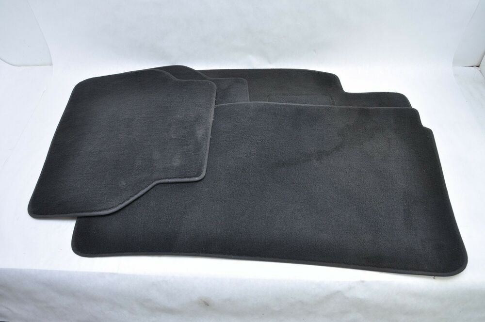 1996 2003 Bmw E39 530i Black Carpet Floor Mats Oem Ebay