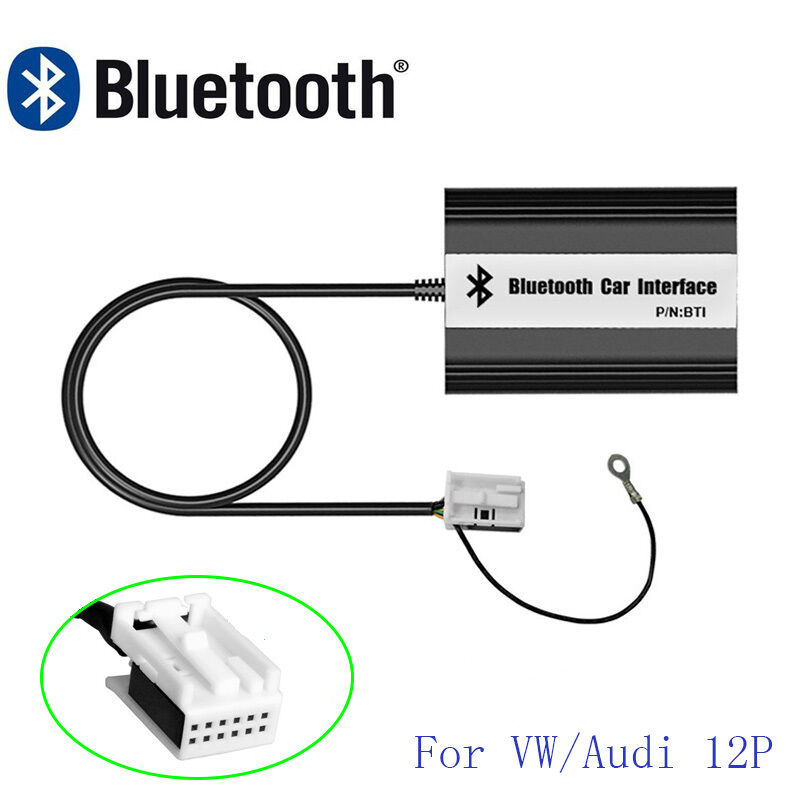 Car Bluetooth Kits Wireless Aux Interface Adapter For Audi