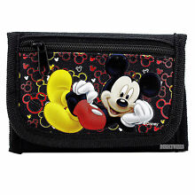 Mickey Mouse Black Wallet