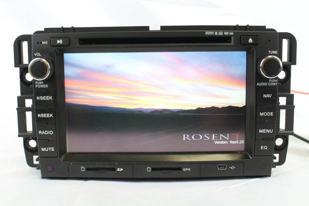 Rosen Oem Gps Navigation Receiver Dvd Ipod Blutooth Player
