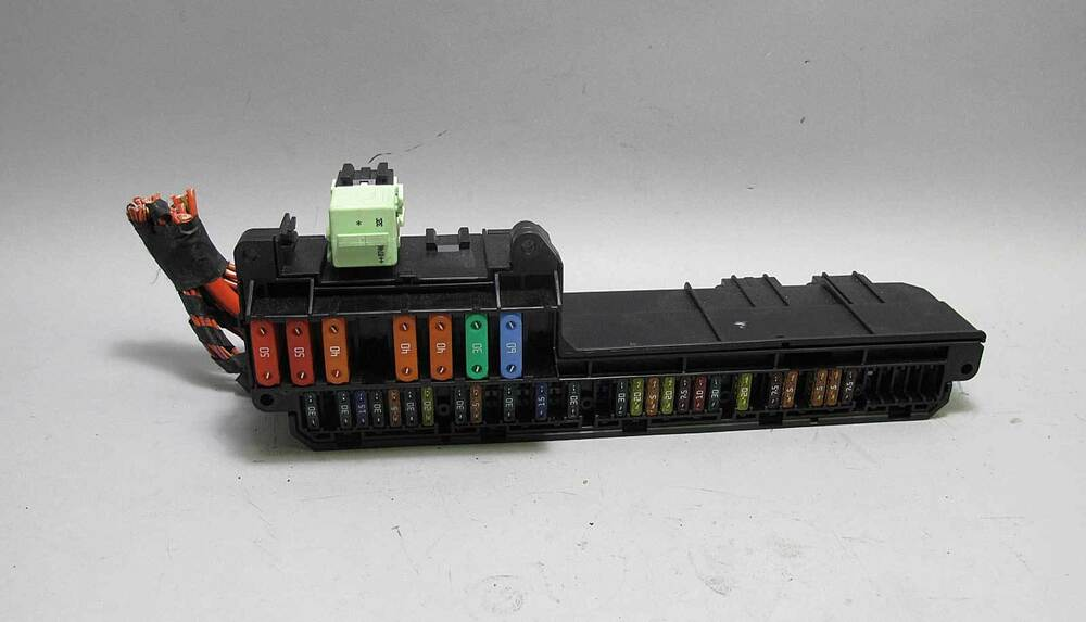 BMW E60 5 6 Series E63 Interior Glove Box Front Fuse Box