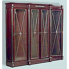 Continental Mahogany Bookcase Cabinet (possibly Baltic/1st qtr, 19th Cent)
