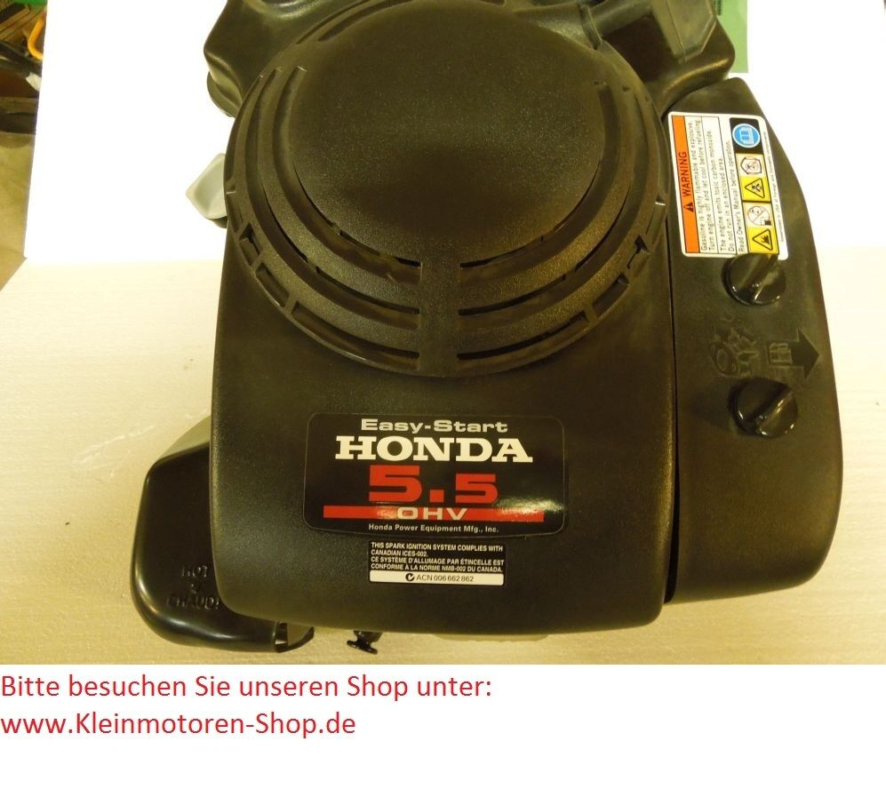 honda gxv 160 motor 5 5 ps f r toro rasenm her ebay. Black Bedroom Furniture Sets. Home Design Ideas