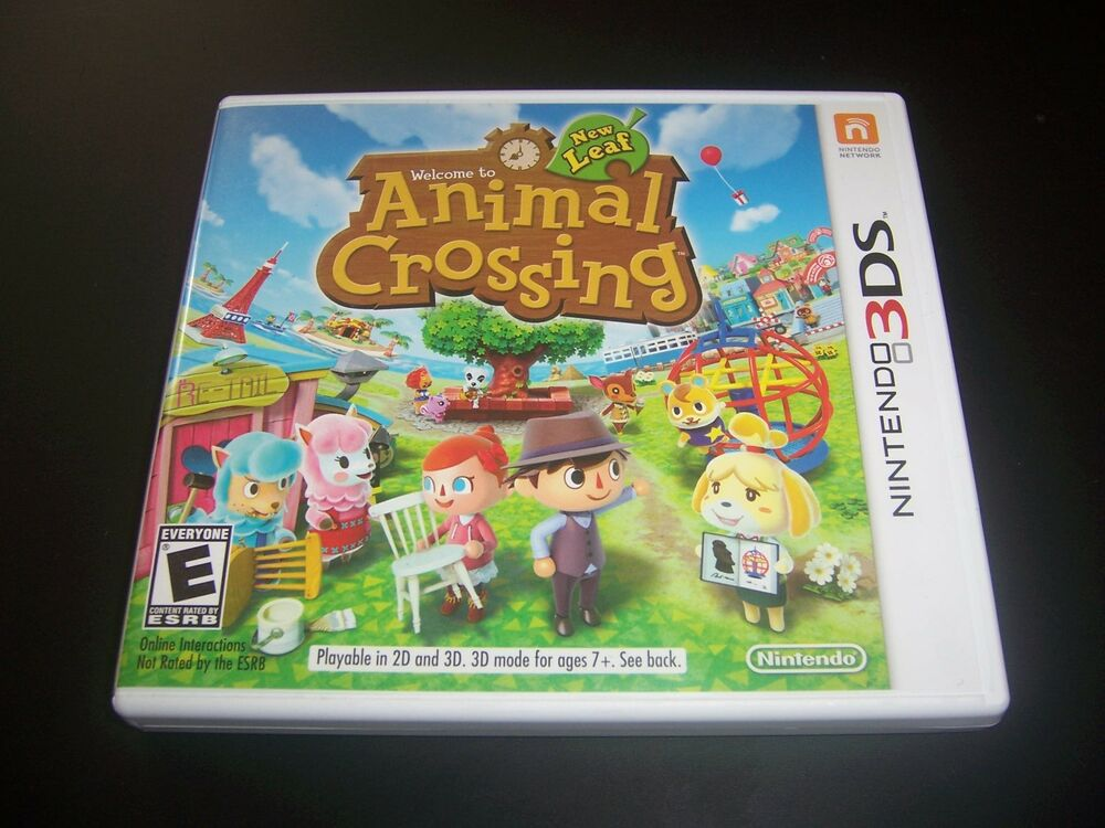 Replacement Case (NO GAME) Animal Crossing New Leaf