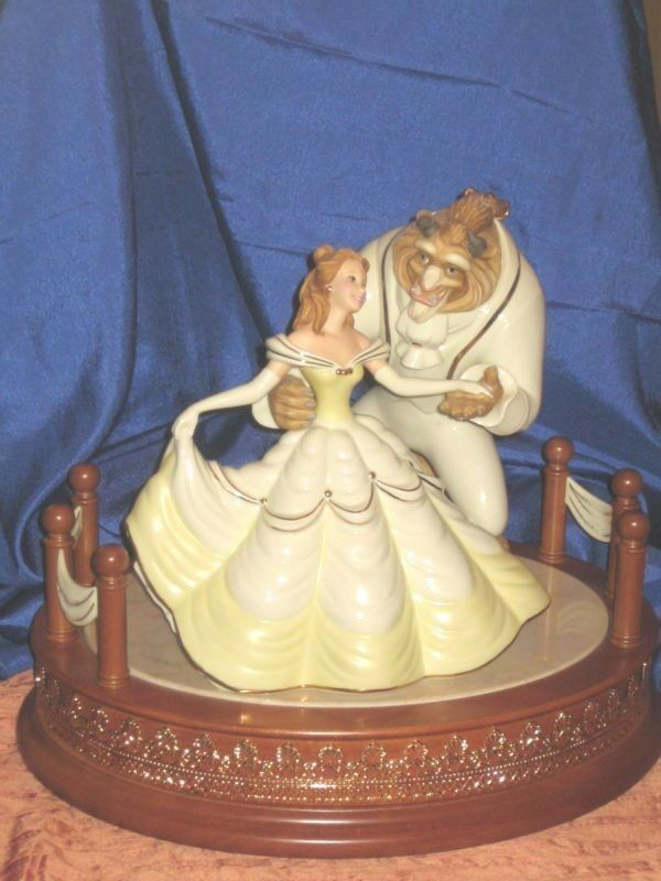 Lenox Beauty And The Beast Limited Edition Sculpture