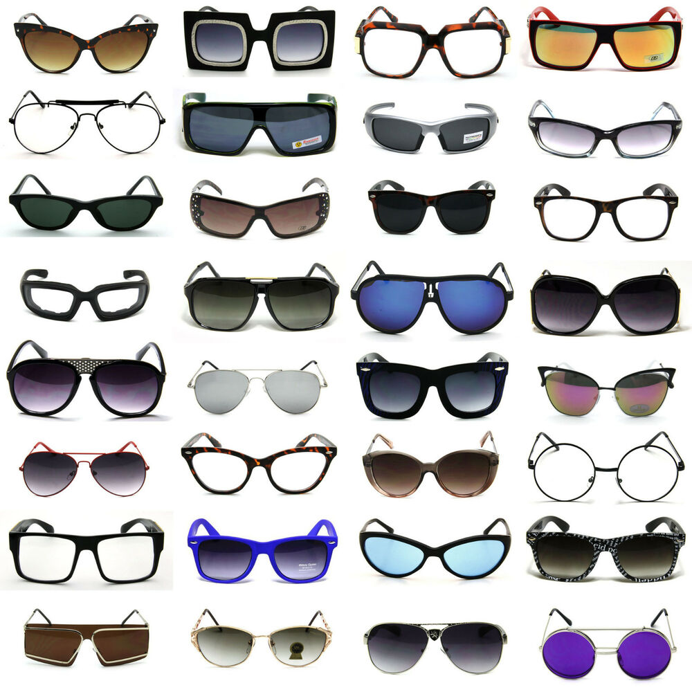 Bulk Lot Wholesale Sunglasses Eyeglasses 10 To 100 Pairs -8401