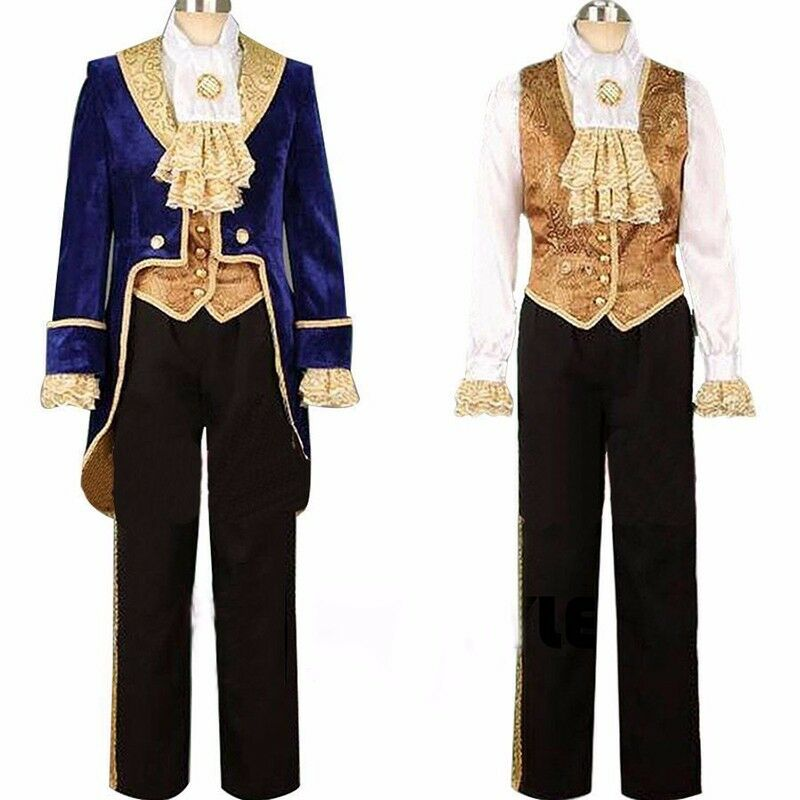 customized beauty and the beast prince adam costume