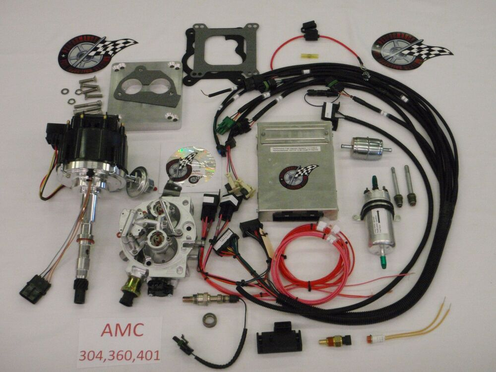 Jeep Fuel Injection System Complete TBI-For Stock 304, 360 ...