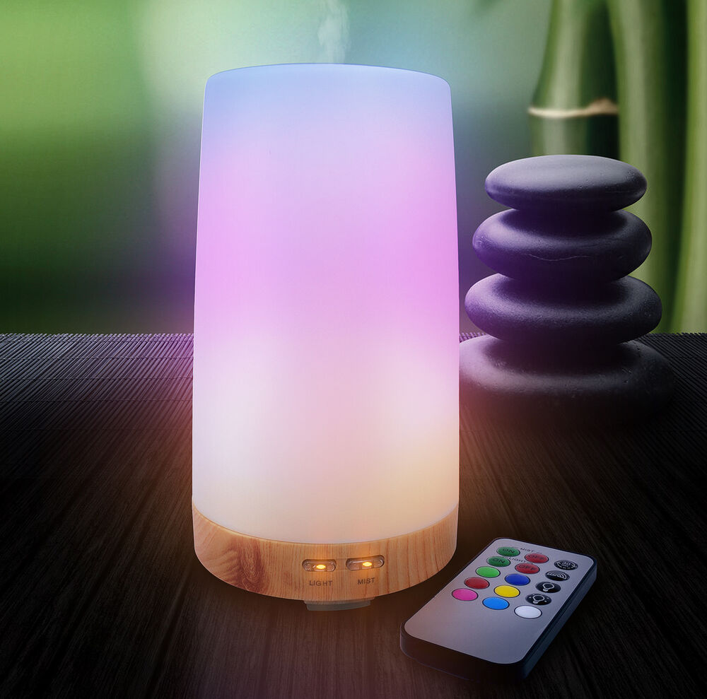 Sorbus Essential Oil Diffuser Aroma Oil Cool Mist Humidifier With Remote Ebay