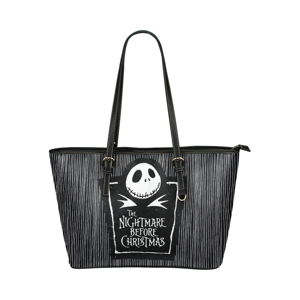 The Nightmare Before Christmas Custom Tote Bag Handle Bags Handbag ...