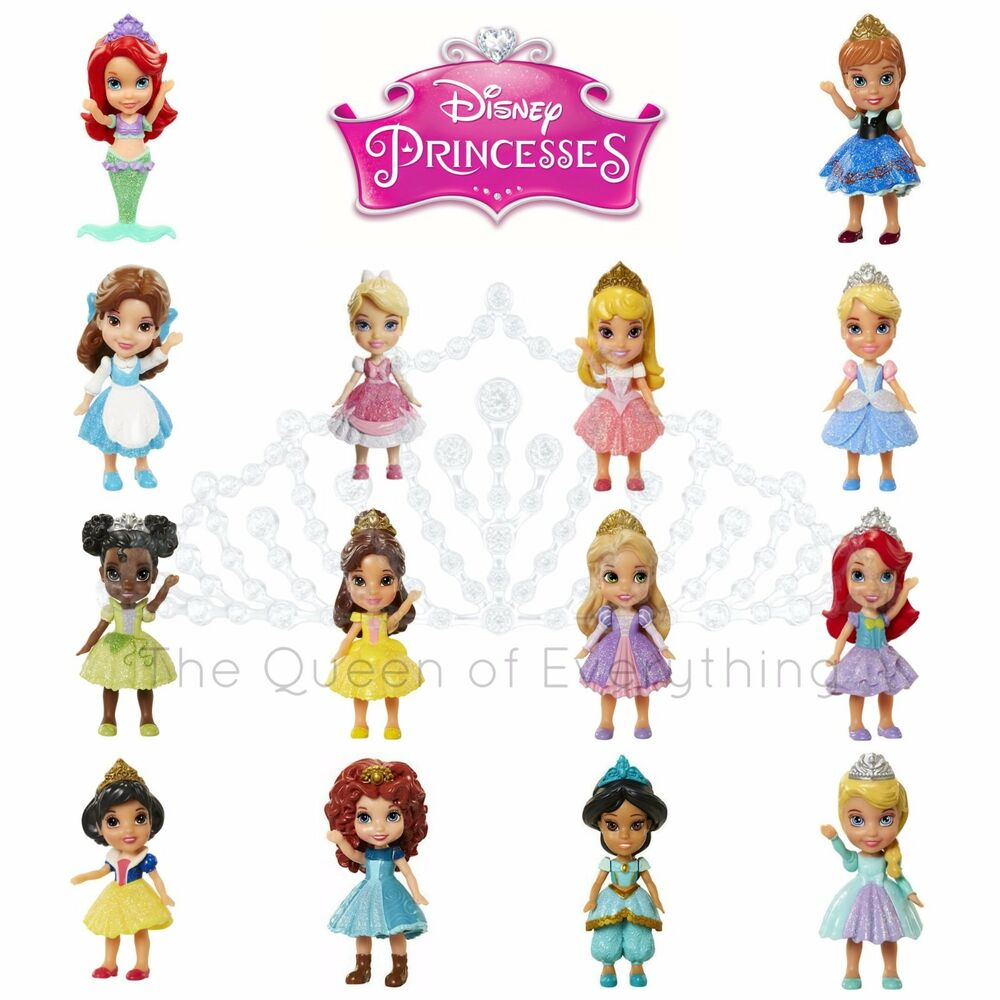 Disney Princess Mini Toddler Doll Sets Belle Cinderella