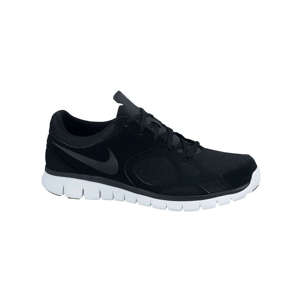 8c43629b2ccc Details about New Original Nike Flex 2012 EXT Black White Running Shoes for  Men Trainers NIB