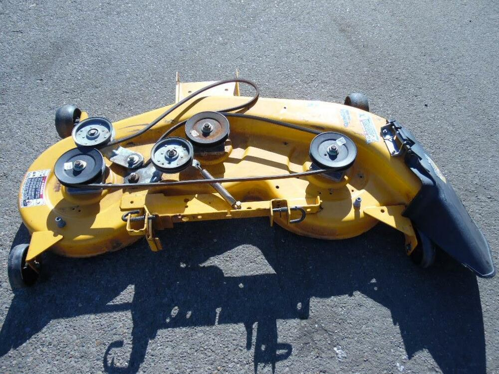 Lawn Tractor Deck Spindles : Cub cadet lt lawn tractor quot mower deck
