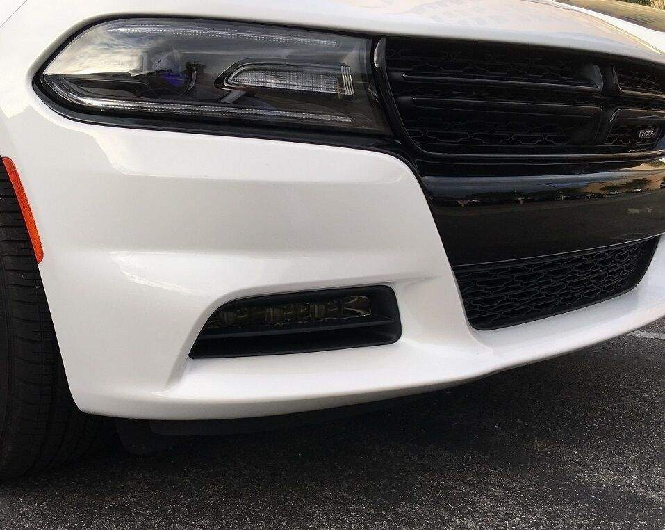 2015 2016 2017 2018 Dodge Charger Foglight Precut Smoke