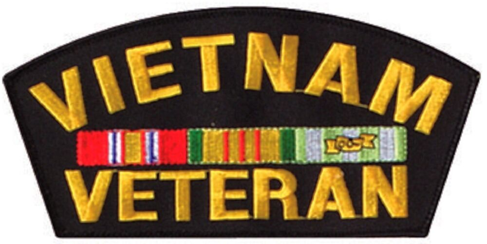 Vietnam Veteran Army Patch Rect | Vietnam War Patches ... |Vietnam Veteran Patches And Badges