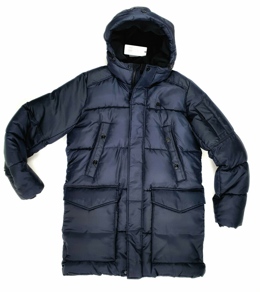 neu hugo boss parka oscott w thermo winterjacke gr 46 48 50 52 54 herren ebay. Black Bedroom Furniture Sets. Home Design Ideas