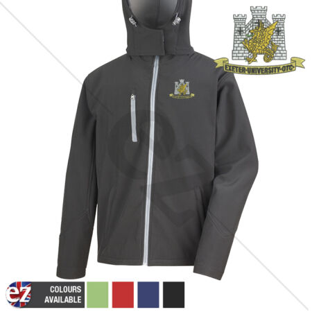 img-Exeter University OTC - Hooded Softshell Jacket - Personalisation