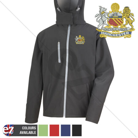 img-Manchester Regiment - Hooded Softshell Jacket - Personalisation