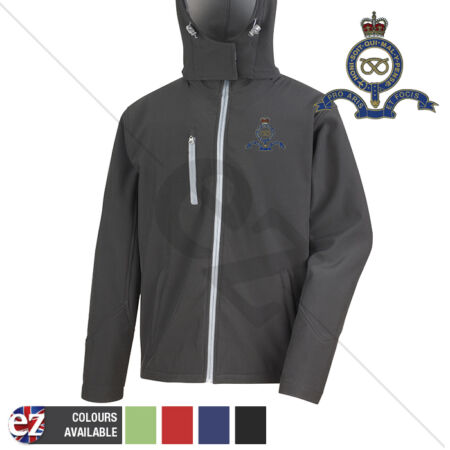 img-Queens Own Staffordshire Regiment - Hooded Softshell Jacket - Personalisation