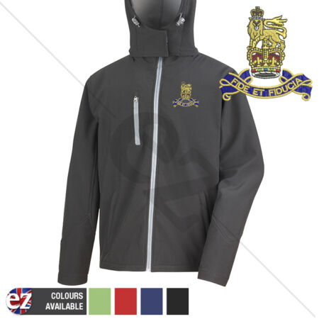 img-Royal Army Pay Corps - Hooded Softshell Jacket - Personalisation