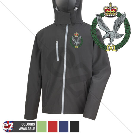 img-Army Air Corps - Hooded Softshell Jacket - Personalisation