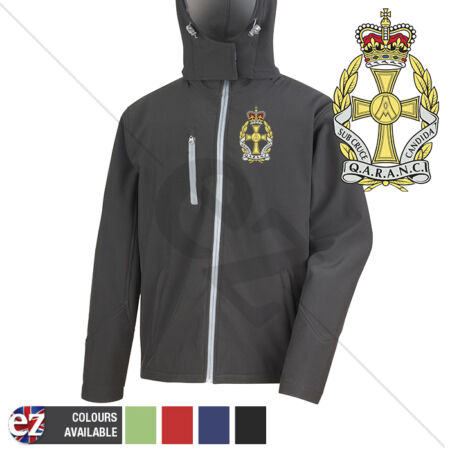 img-QARANC - Hooded Softshell Jacket - Personalisation