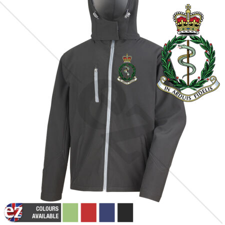 img-Royal Army Medical Corps - Hooded Softshell Jacket - Personalisation
