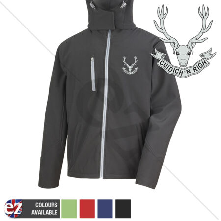 img-Seaforths - Hooded Softshell Jacket - Personalisation