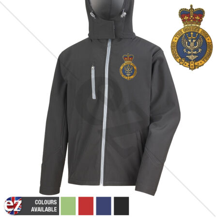 img-The Queens Own Yeomanry - Hooded Softshell Jacket - Personalisation