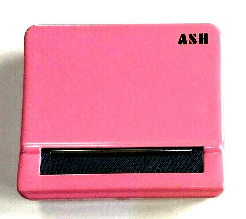 Automatic Rolling Machine Tobacco Case Tin Roller Pink