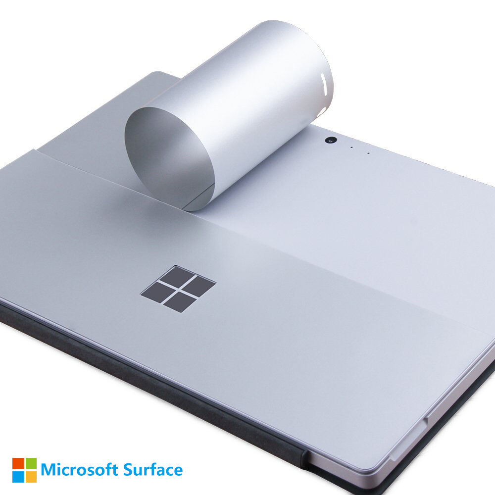 for microsoft surface pro 4 pro 3 back body cover protective stickers skins ebay. Black Bedroom Furniture Sets. Home Design Ideas