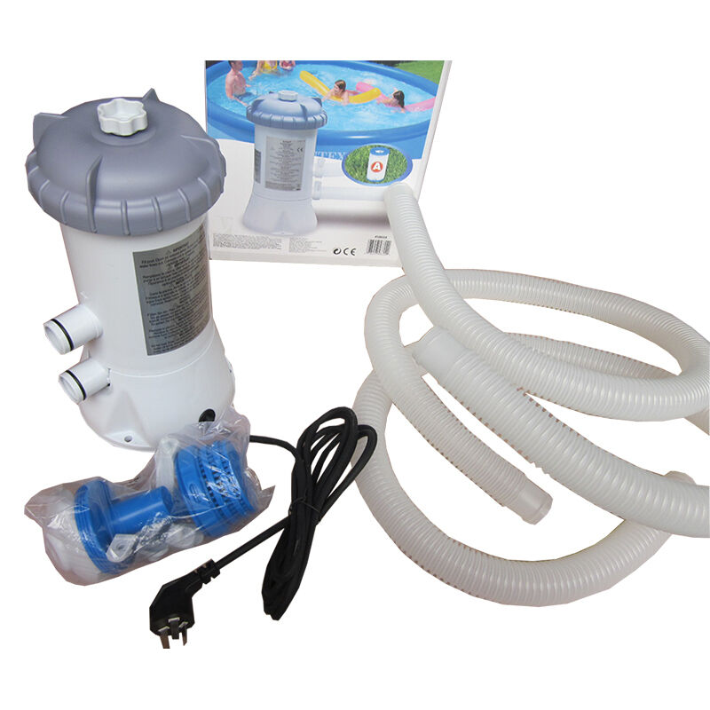 Intex swimming pool large pool circulating pump filter water pump purifier 220v ebay for Swimming pool filters and pumps