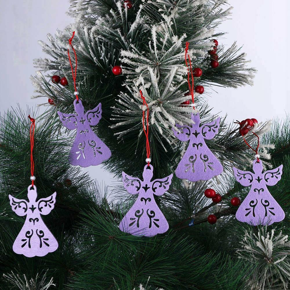5pcs angel style christmas tree decoration pendant hanging xmas ornament 3colors ebay for Angel of the north christmas decoration