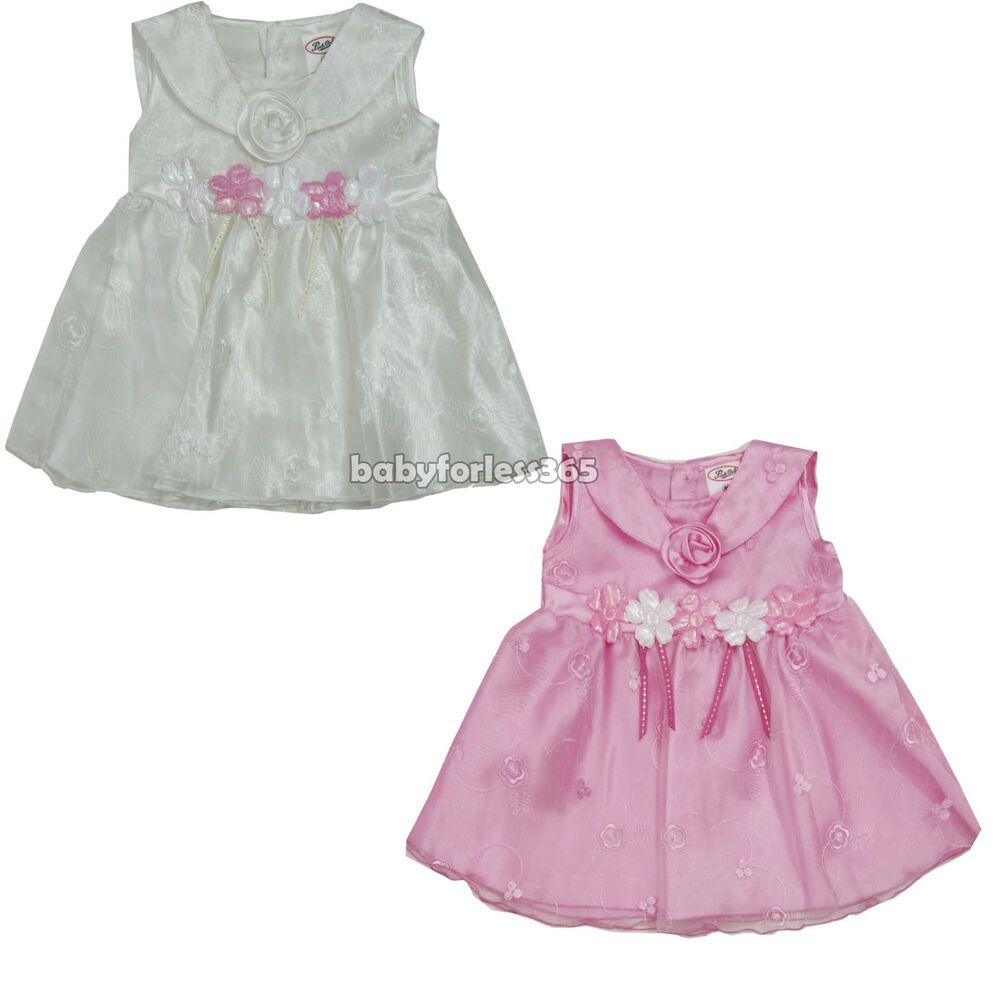 newborn infant baby girl dress 2 pieces set clothing