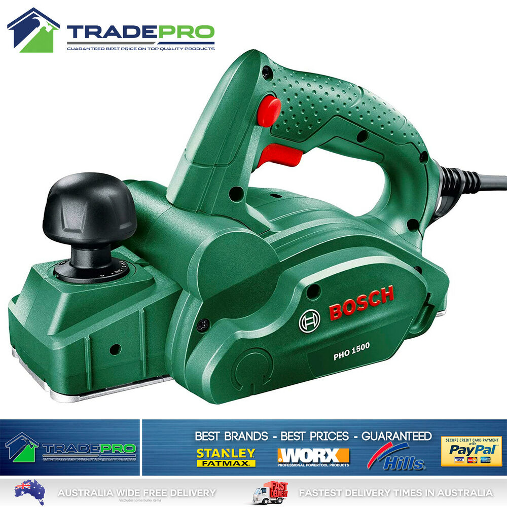 Stanley Fatmax® Electric Wood Planer 82mm 750w with Case Blades Guide ...