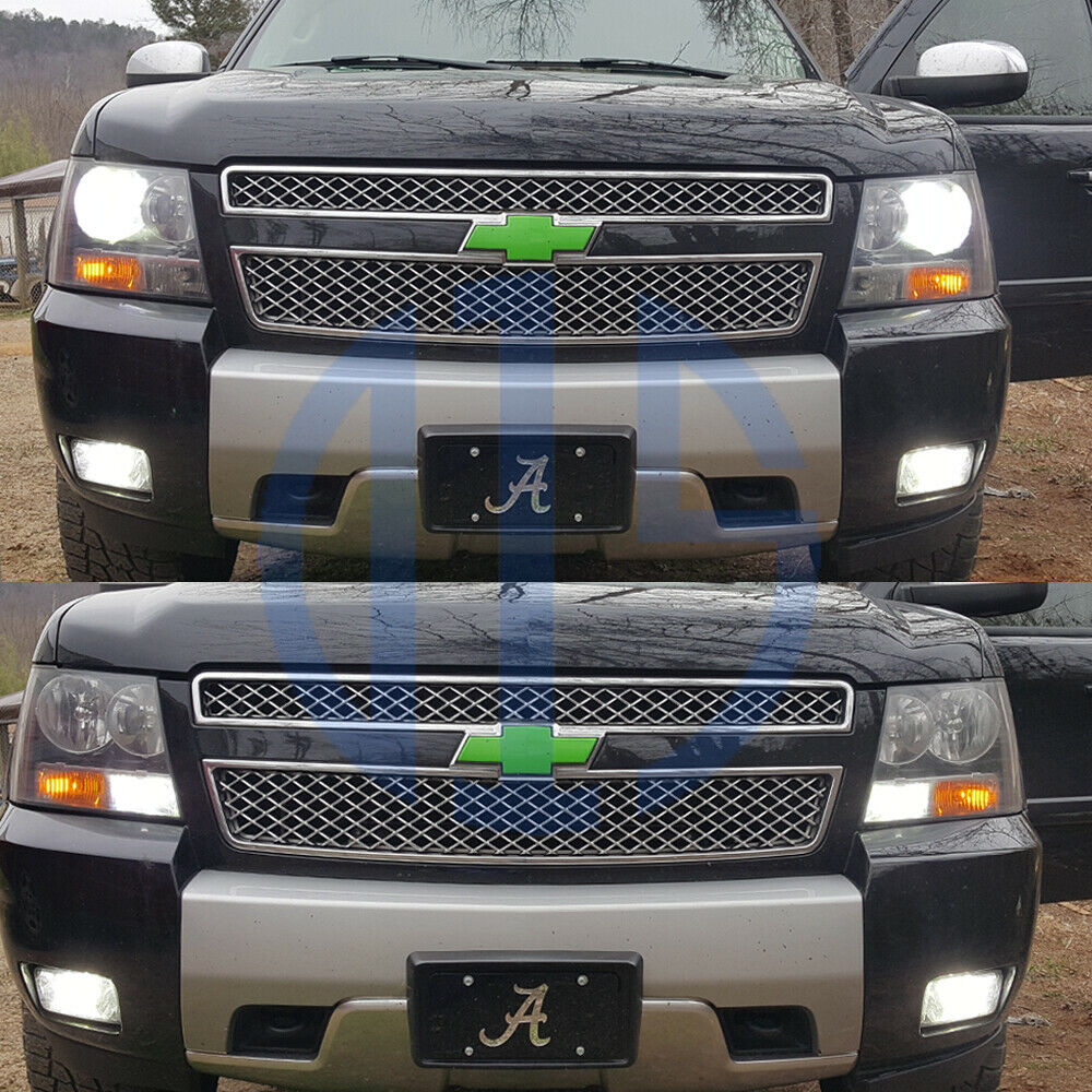 chevy tahoe low beam headlight