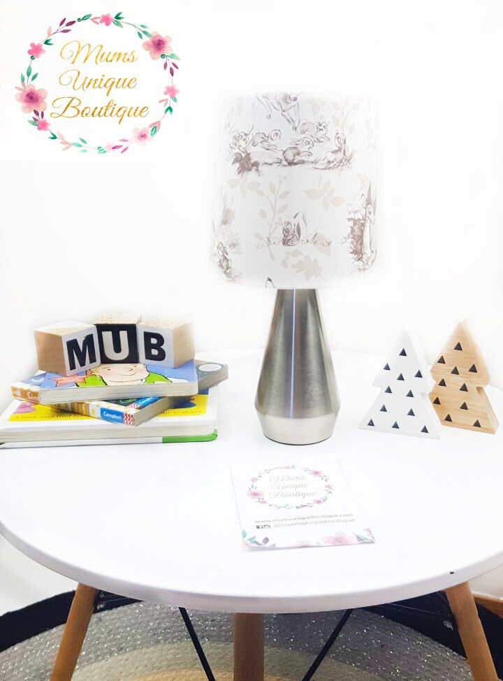 boy baby children nursery table lamp night light touch lamp ebay. Black Bedroom Furniture Sets. Home Design Ideas