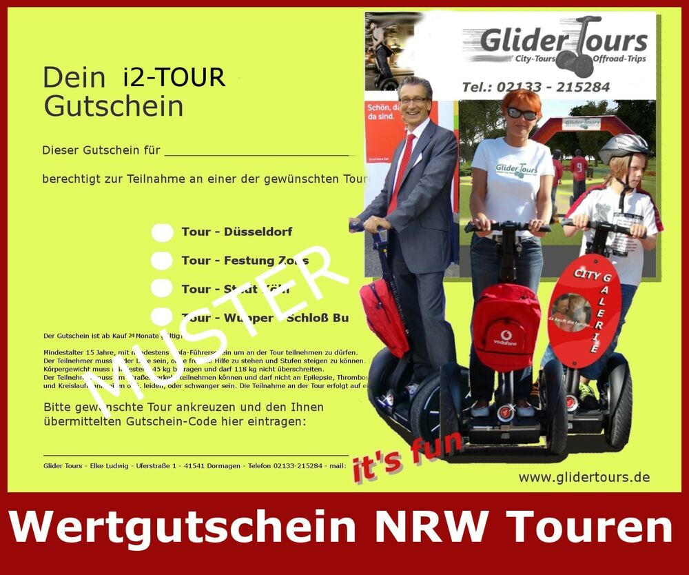 wert gutschein segway tour nrw z b k ln d sseldorf o. Black Bedroom Furniture Sets. Home Design Ideas