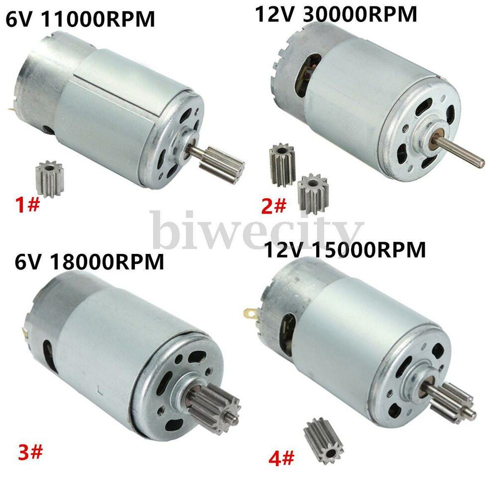 12 Volt High Torque Electric Motor Ebay