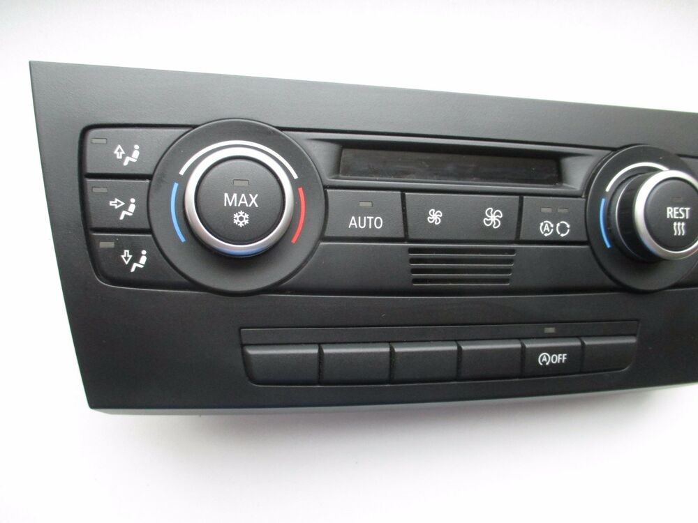 bmw 3 series e90 e91 e92 e93 e87 climate control unit 9162983 ebay. Black Bedroom Furniture Sets. Home Design Ideas