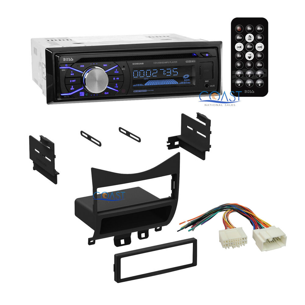 Diagram Boss Car Radio Stereo Bluetooth Dash Kit Wire Harness For