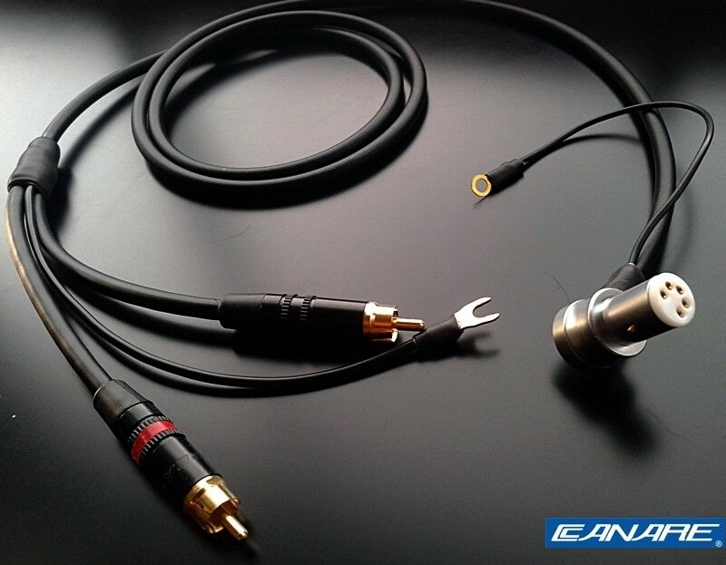 Canare Starquad Tonearm Phono Cable For Linn Sme