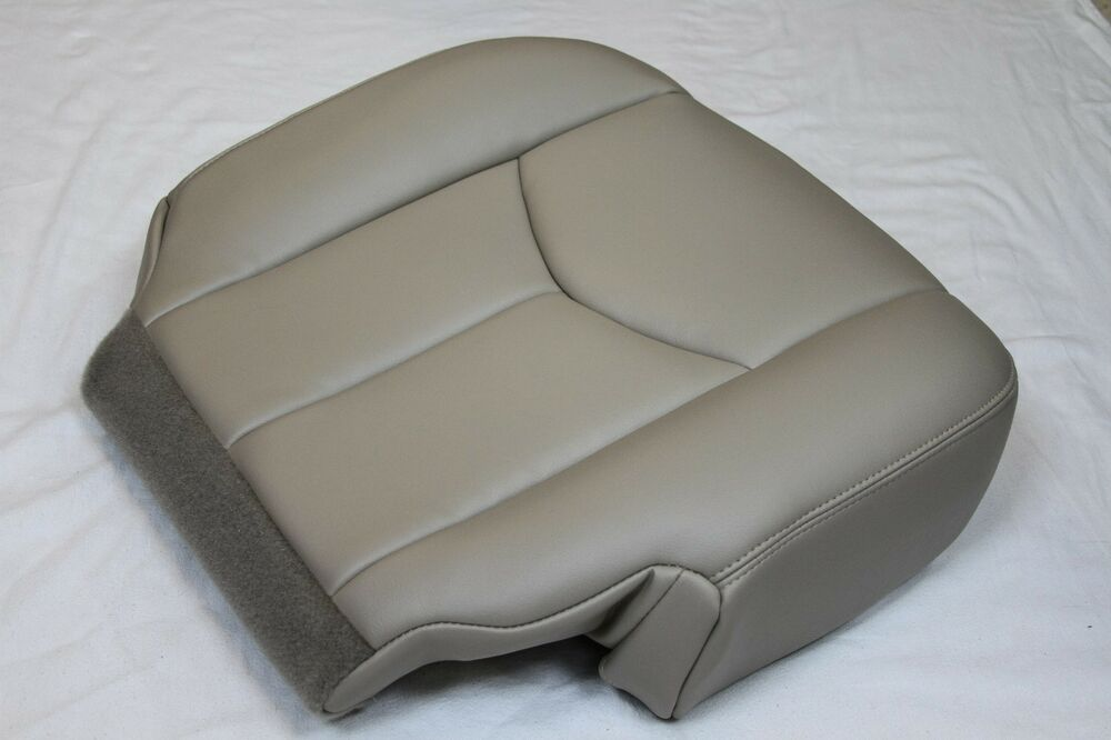 2003 2004 2005 2006 Chevy Suburban Tahoe Ls Lt Front Driver Seat Cover Light Tan Ebay