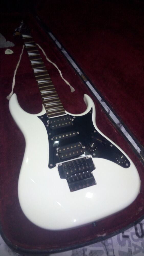 ibanez electric guitar 1988 model ex 350 serial number p907633 with case ebay. Black Bedroom Furniture Sets. Home Design Ideas