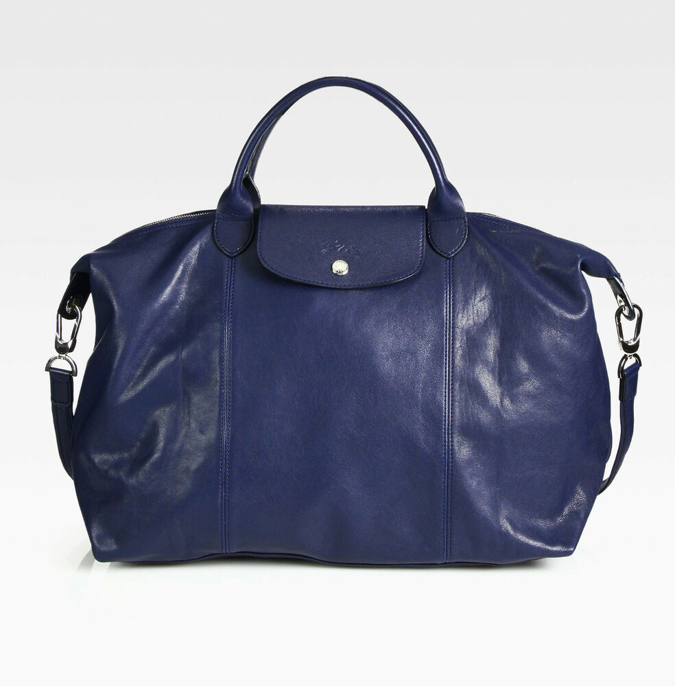 Longchamp Bag Le Pliage House Of Fraser : Nwt longchamp le pliage cuir large tote leather satchel