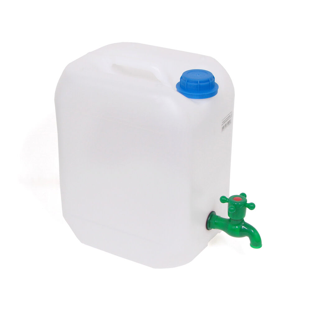 20 Litre Plastic Water Jerry Can Carrier Container Storage