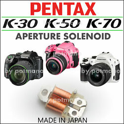 Kyпить Pentax K-30 K-50 K-70 K-S1/S2 K-500 Genuine White Solenoid Part - Japan - на еВаy.соm