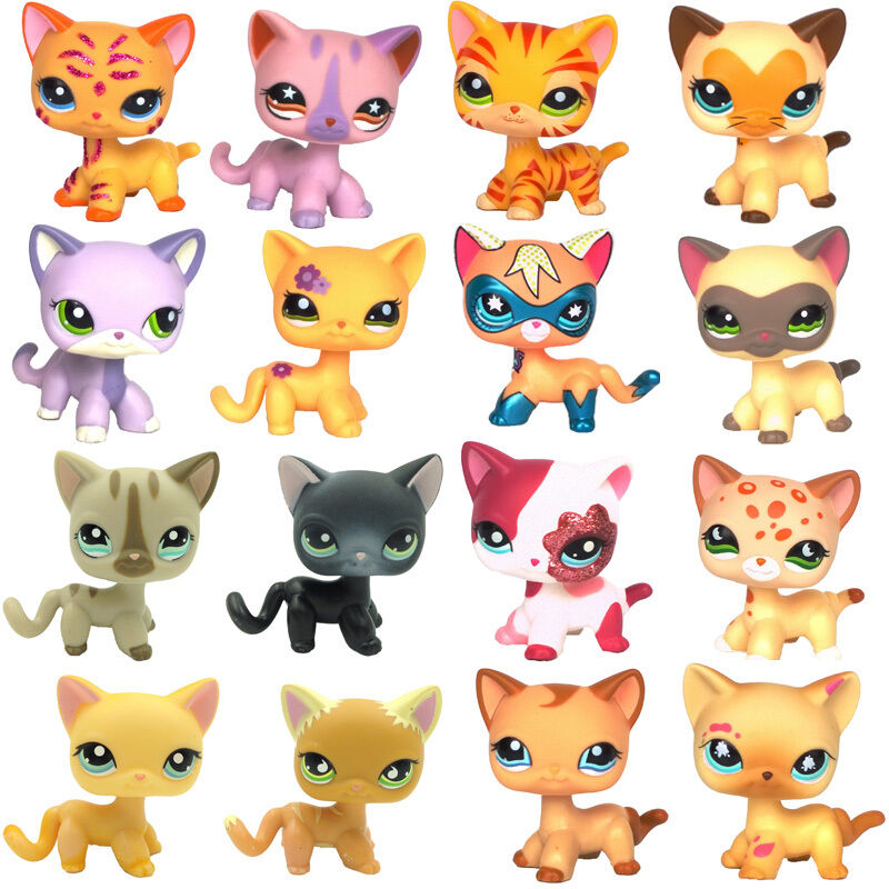 Littlest pet shop short hair cat lps toys european san - Image petshop ...